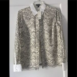 JCrew Lace blouse